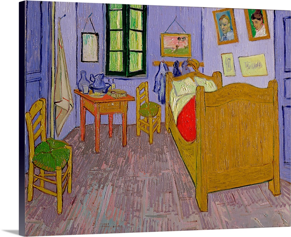 van goghs bedroom at arles 1889 oil on canvas great