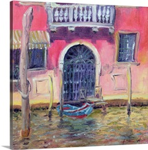 Venetian Balcony, 2000 (oil on canvas)