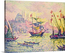 View of Constantinople, 1907 (oil on canvas)