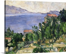 View of Mount Marseilleveyre and the Isle of Maire, c.1882 85 (oil on canvas)