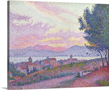 View of Saint Tropez, 1896