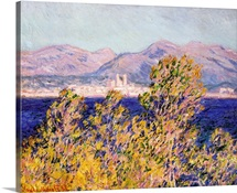View of the Cap d&amp;#39;Antibes with the Mistral Blowing, 1888 (oil on canvas)