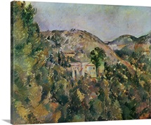 View of the Domaine Saint Joseph, late 1880s (oil on canvas)