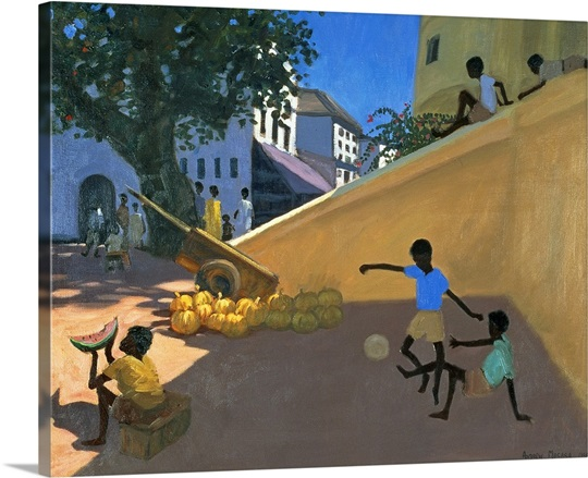 Water Melons, Hamu, Kenya, 1995 (oil on canvas)