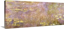 Waterlilies, after 1916 (oil on canvas)