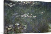 Waterlilies: Green Reflections, 1914 18 (central section)