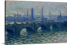 Waterloo Bridge, 1902 (oil on canvas)