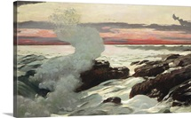West Point, Prout's Neck, 1900 (oil on canvas)