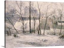 Winter Landscape, 1879 (oil on canvas)