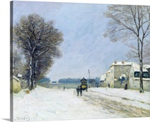 Winter, Snow Effect, 1876 (oil on canvas)