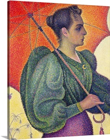 Woman with a Parasol, 1893 (oil on canvas)