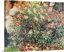 Women in the Flowers, 1875 (oil on canvas)