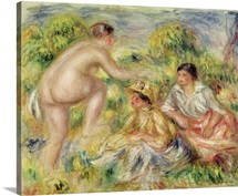 Young Girls in the Countryside, 1916 (oil on canvas)