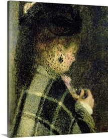Young Woman with a Small Veil, c.1875 (oil on canvas)