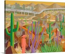 Phoenix Desert City