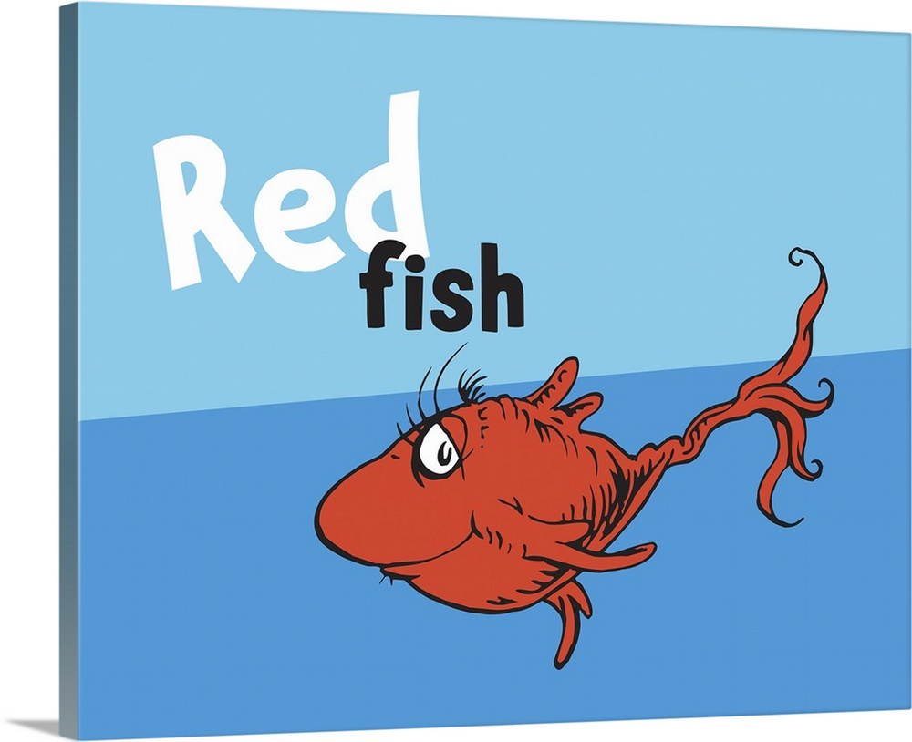 Dr seuss blue fish clip art the image for Red fish blue fish