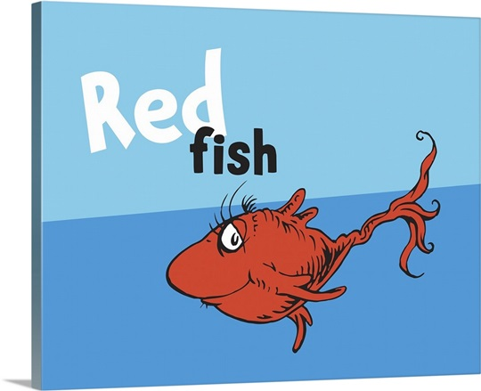 dr seuss one fish two fish clip art