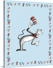 The Cat in the Hat Series I:  The Cat in the Hat Introduces Himself, blue