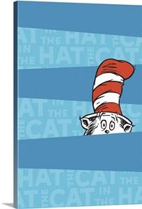 Peeking Cat In The Hat