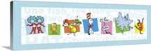 The Seuss Gang, white with blue border