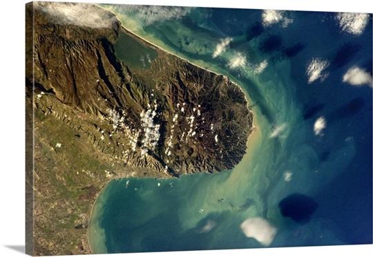 Beautiful Italian peninsula jutting into the Adriatic Sea