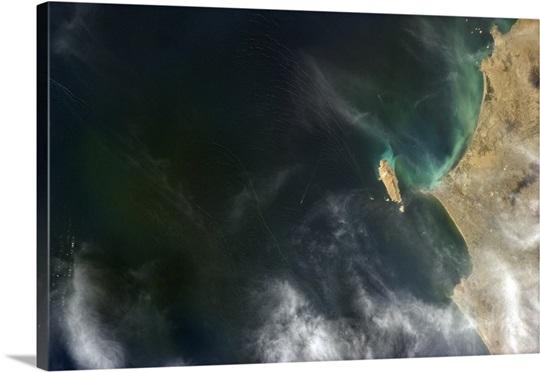 Complex waters off the Bay of Callao, Peru