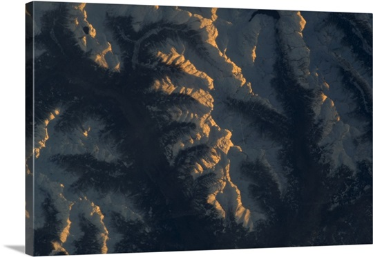 The Alps are beautiful, even from orbit. Taken on the last day of 2012 from the ISS