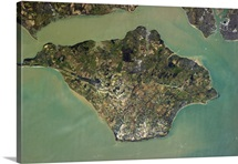 There may never be a clearer picture of the Isle of Wight from space