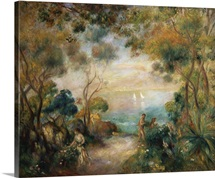 A Garden In Sorrento By Pierre-Auguste Renoir