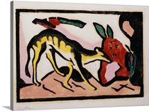 Fantastic Animal by Franz Marc