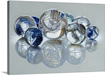 Glassies Marbles XIV By Charles Bell