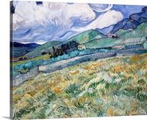 Landscape From Saint-Remy By Vincent Van Gogh