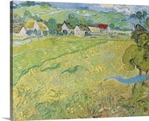 Les Vessenots A Auvers By Vincent Van Gogh