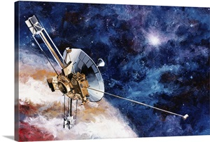 Pioneer 10 Spaceprobe, Artist's Rendering Photo Canvas ...