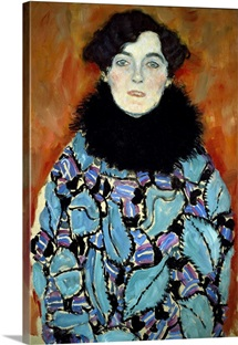 Portrait of Johanna Staude by Gustav Klimt