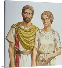 Roman Man And Woman