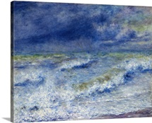 Seascape By Pierre-Auguste Renoir