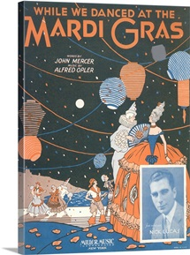 Sheet Music For While We Danced At The Mardi Gras