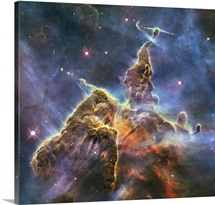 Stellar Nursery In The Carina Nebula