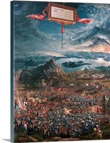 The Battle of Issus between Alexander the Great and Darius III