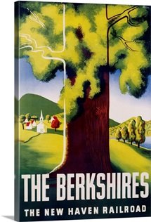 The Berkshires Poster By Ben Nason