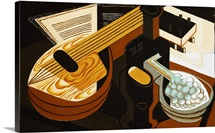 The Mandolin By Juan Gris