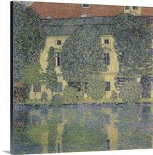 The Schloss Kammer On The Attersee III By Gustav Klimt