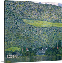 Unterach on Lake Attersee by Gustav Klimt