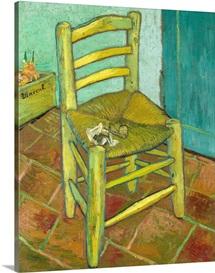 Van Gogh's Chair By Vincent Van Gogh