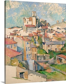 View Of Gardanne By Paul Cezanne