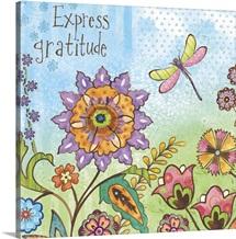 Boho Garden - Express Gratitude