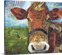 Brown Cow Collage