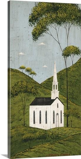 Church in Hills