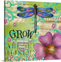 Inspiration Garden - Dragonfly Grow